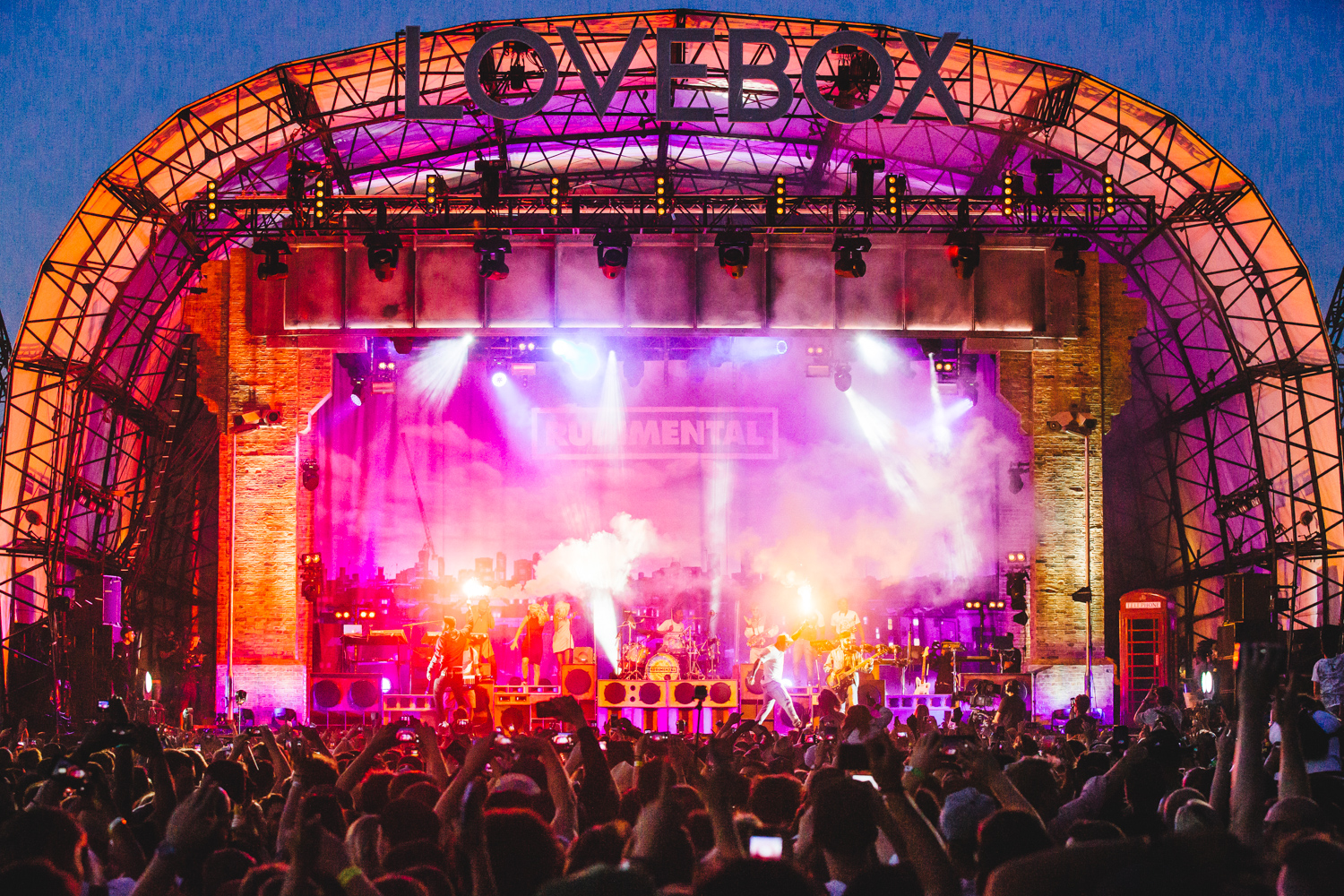 RUDIMENTAL / LOVEBOX 2015