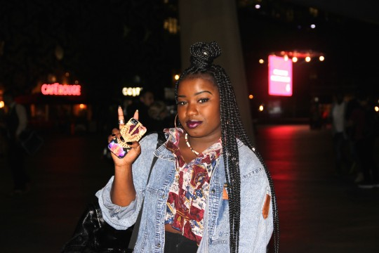 Misha B at T-Pain Concert