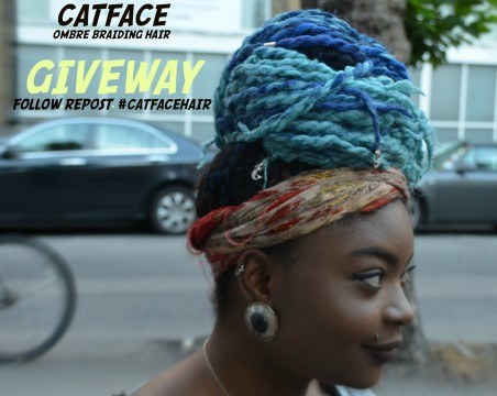 #CatfaceHair Instagram Giveaway