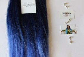 Catface Hair Black Blues Goddess Ombre Jumbo Braiding Hair