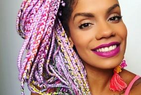 Catface Hair Rainbow Ombre Jumbo Braiding Hair