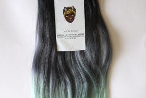 Catface Hair Dark Mint Tea Ombre Jumbo Braiding Hair