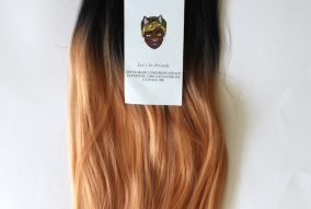 Catface Hair Black Peach Ombre Jumbo Braiding Hair