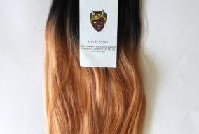 Catface Hair Black Peach Ombre Jumbo Braiding Hair
